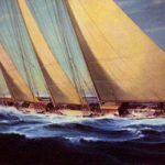 The Schooner Yacht Atlantic