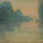 Maine Lake Twilight