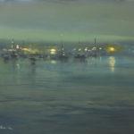 Newport Harbor Nocturne