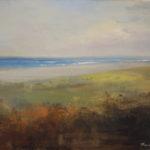 Painting from the Dunes Nausett Beach Cape Cod